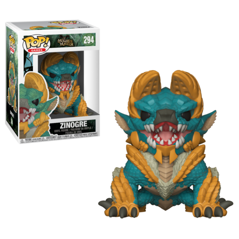 Фигурка Funko POP! Vinyl: Games: Monster Hunter  S1:  Zinogre 27341