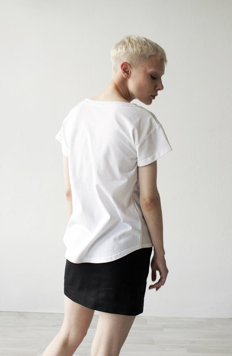 Женская футболка «Земфира» cot
