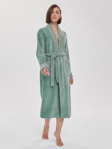 Бамбуковый женский халат  747 мятный PECHE MONNAIE Россия