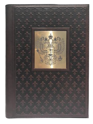 Ежедневник А5 «Империя 6». Цвет коричневый