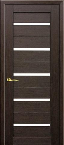 Дверь №7Х стекло матовое (венге мелинга, остекленная экошпон), фабрика Profil Doors