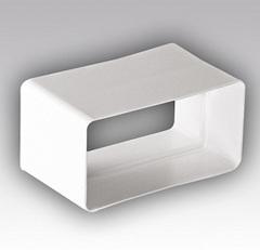 Соединитель-муфта 120х60 мм пластиковый