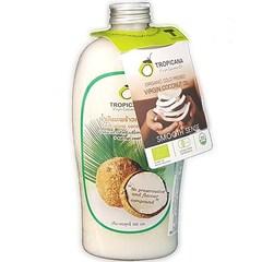 Натуральное 100-процентное нерафинированное кокосовое масло холодного отжима  TROPICANA