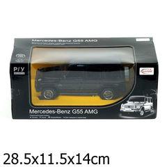 Rastar Машина радиоуправляемая Mercedes-Benz G55, 1:24 (30500-RASTAR / 166928)