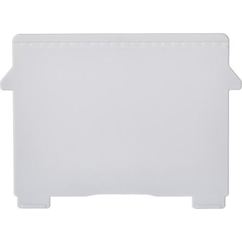 Разделитель для картотеки Exacompta горизонтальный пластиковый (A7, 2 штуки в упаковке)