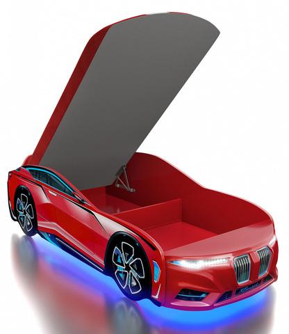Кровать-машинка Romack Boxter-M красная
