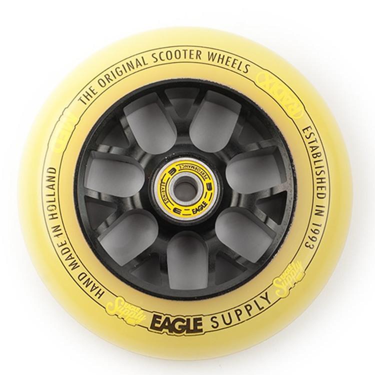 Колесо для самоката EAGLE Radix Chunky X6 (Black/Yellow)
