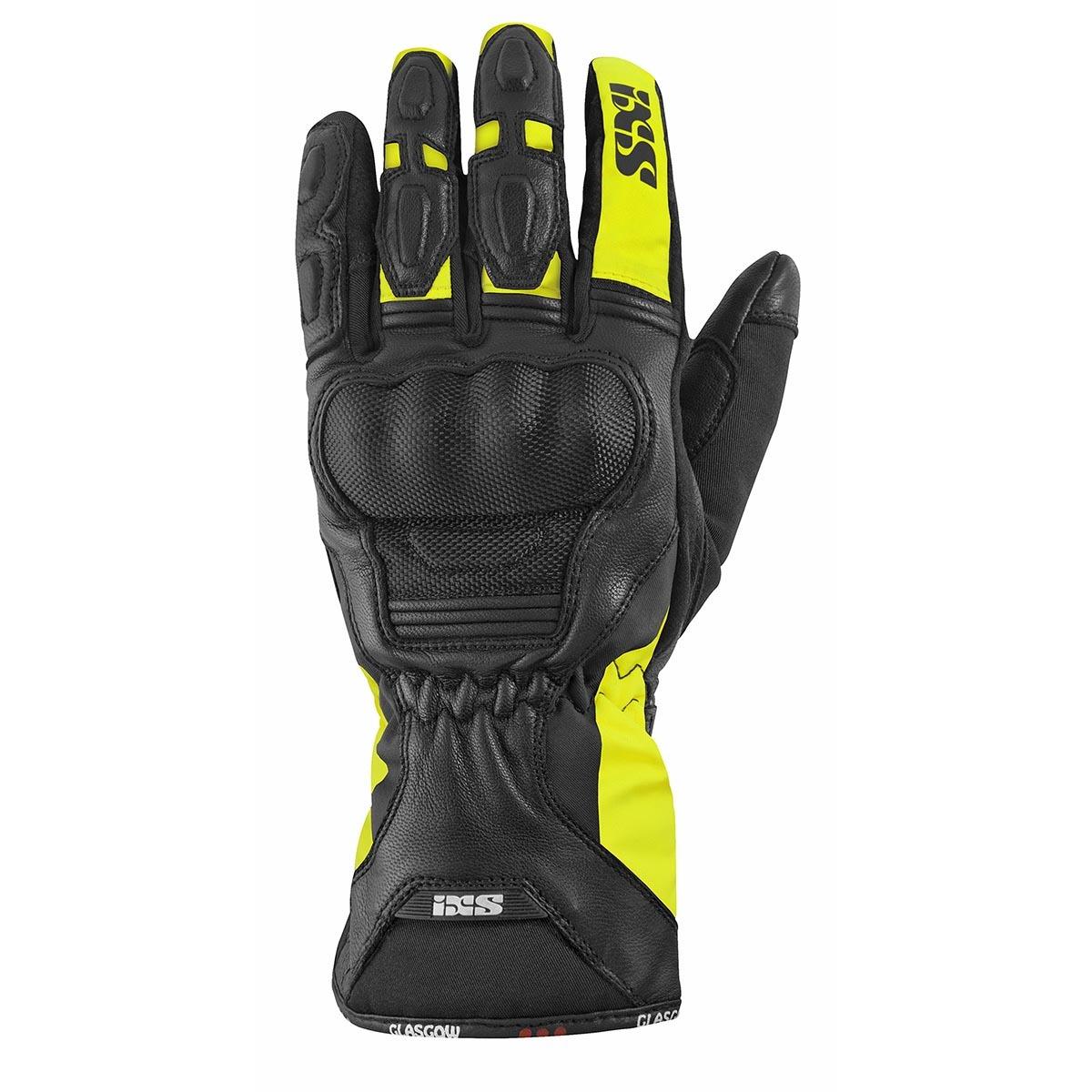 IXS GLASGOW MEN black/yellow