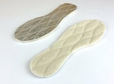 Стёганые стельки из натуральной шерсти со специальной нескользящей фольгой, Bergal (Германия)