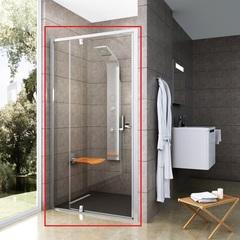 Дверь душевая поворотная в нишу 100х190 см Ravak Pivot PDOP2-100 03GA0U00Z1 фото