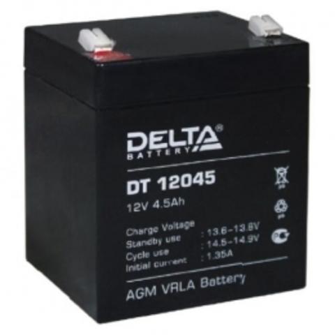 Аккумулятор для эхолота 12В; 4,5 Ач (12v; 4,5ah)