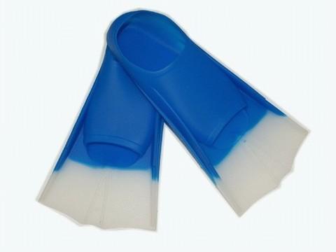 Ласты для плавания в бассейне в полиэтиленовой сумке. Размер 31-32. Материал:  латекс. :(W27):