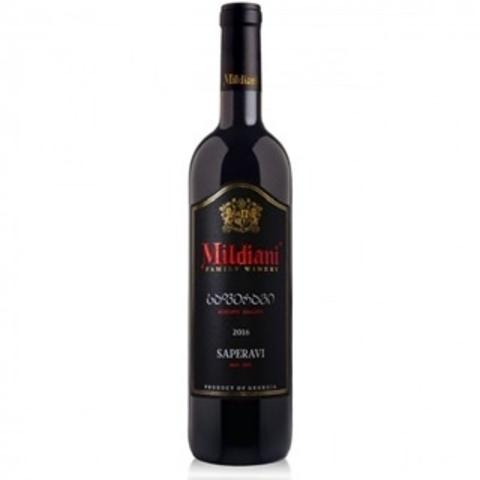 ღვინო საფერავი მილდიანი 0.75ლ