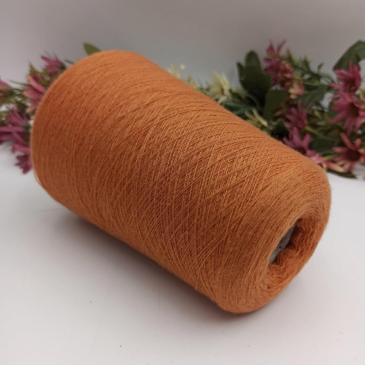 100% кашемир Loro Piana  оранжевый