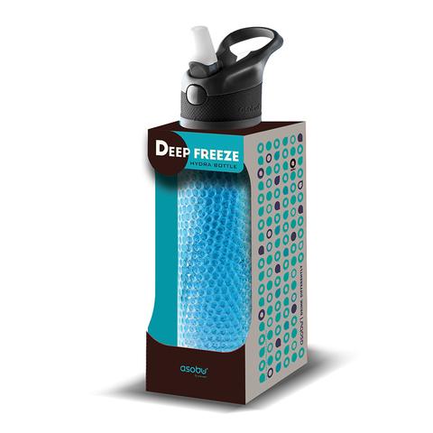 Термобутылка Asobu Deep freeze (0,6 литра), голубая