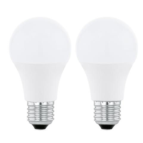 Лампа светодиодная Eglo LED LM-LED-E27 2х5,5W 470Lm 4000K A60 11544