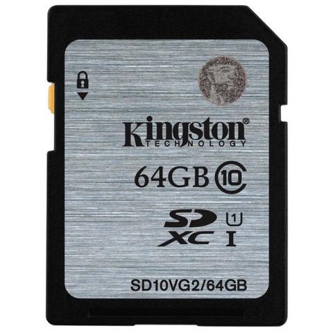 Карта памяти Kingston  SD 64 Gb 80Mb/s