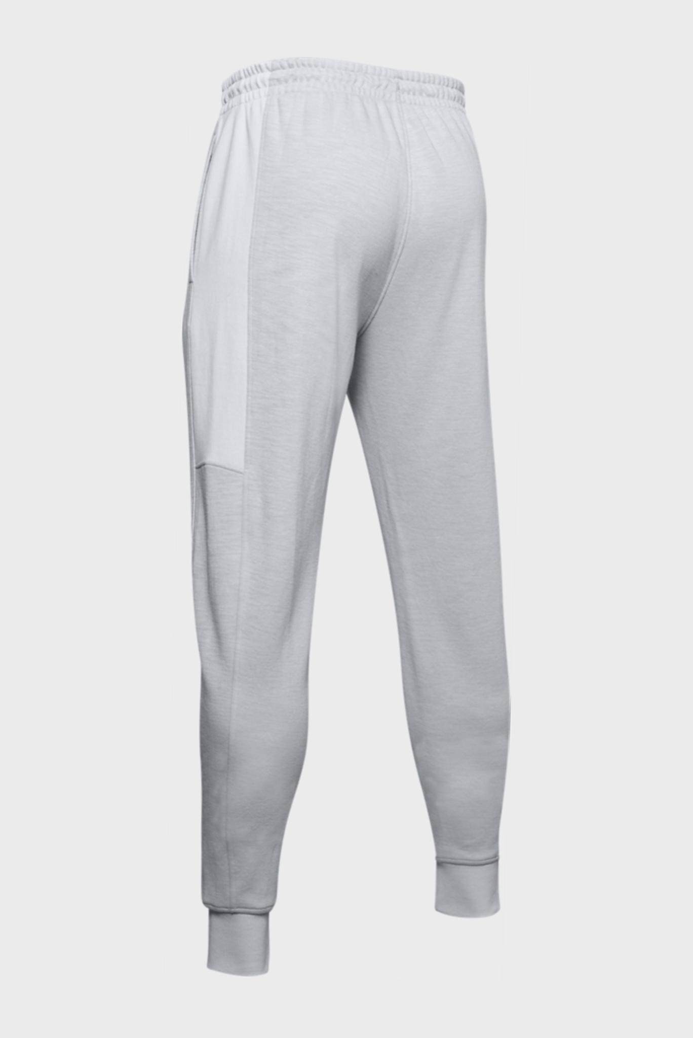 Мужские светло-серые спортивные брюки DOUBLE KNIT JOGGER Under Armour