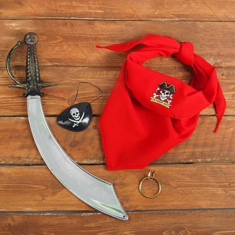 Купить Карнавальный набор «Настоящий пират» в Магазине тельняшек