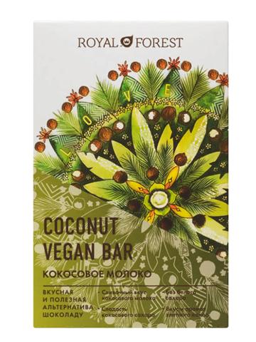 Веганский молочный шоколад из кокосового молока 50 гр