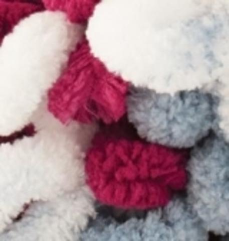Пряжа Puffy Color Alize 6376