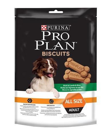 Бисквиты Pro Plan для собак ягненок и рис 400г