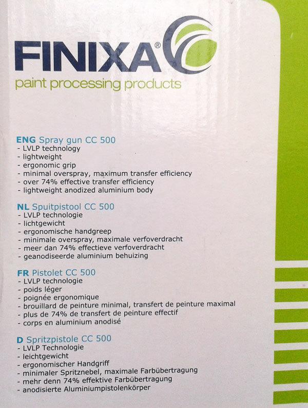 Краскопульт LVLP FINIXA CC 500