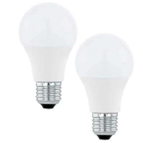 Лампа светодиодная Eglo LED LM-LED-E27 2х5,5W 470Lm 3000K A60 11543