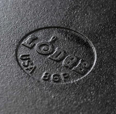 Сковорода чугунная круглая  с двумя ручками + стеклянная крышка, артикул L10CPGL