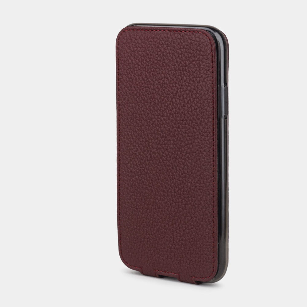 case iphone XR - bordeaux