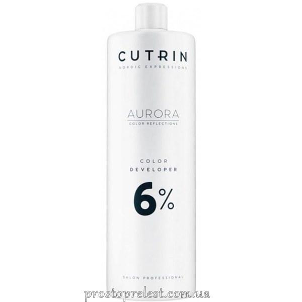 Cutrin Aurora Color Developer - Окисник для волосся 6% 1