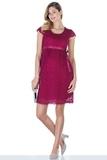 Платье для беременных 03718 вишня