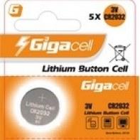 Элемент питания литиевый Gigacell CR2032