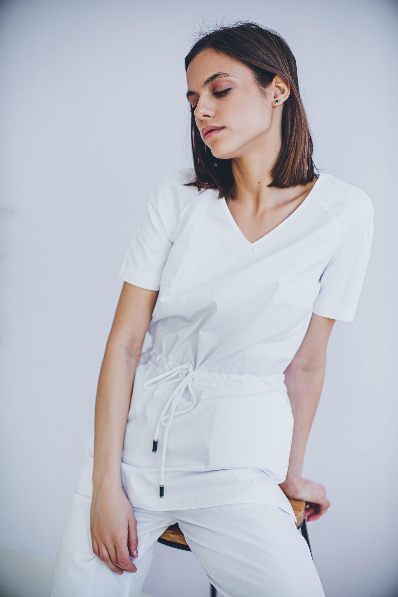 Блуза медицинская женская М 282