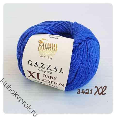 GAZZAL BABY COTTON XL 3421XL, Василек