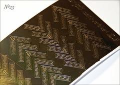 Металлизированные наклейки Arti nails Stiker цвет золото №23