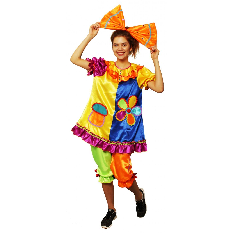 Карнавальный костюм Клоунесса (аппликация)
