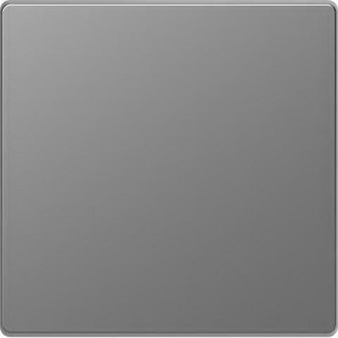 Выключатель одноклавишный. Цвет Нержавеющая сталь. Merten D-Life System Design. MTN3111-0000+MTN3300-6036