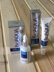 Акция - 20% сыворотка и крем против акне Bioaqua