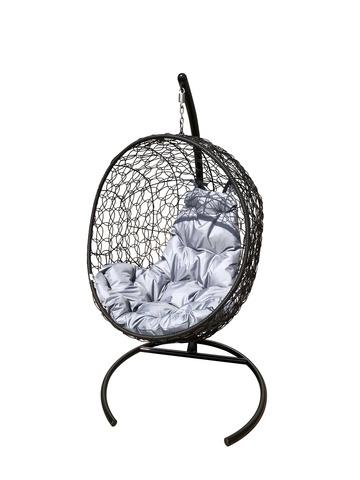 Кресло подвесное Porto black/grey