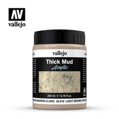 THICK MUD TEXTURES 810-200ML. LIGHT BROWN MUD