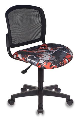 Кресло детское Бюрократ CH-296NX черный сиденье черный граффити крестовина пластик