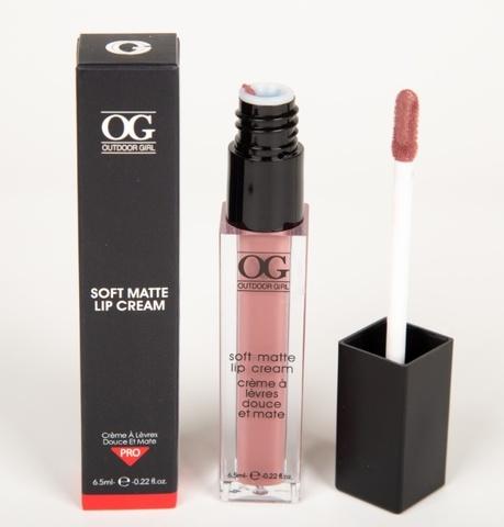 OG-C1195 Блеск для губ ультра-матовый SOFT MATTE LIP CREAM тон 17 Пепел розы