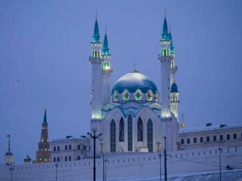 Алмазная Мозаика 40x50 Мечеть Кул Шариф (арт. S569)