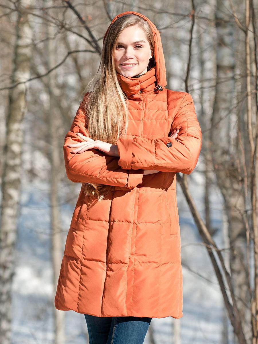 Joutsen пуховик Bea жженый апельсин