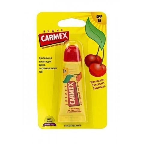 Бальзам для губ Carmex ®  с ароматом вишни с защитой от воздействия ультрафиолета SPF15, туба в блистере