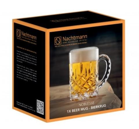 Хрустальная кружка для пива Noblesse, 600 мл