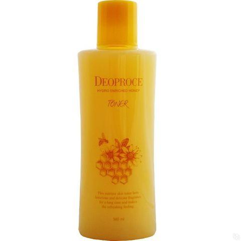 Deoproce  Hydro Enriched Honey Toner  питательный тонер с экстрактом меда 380 мл