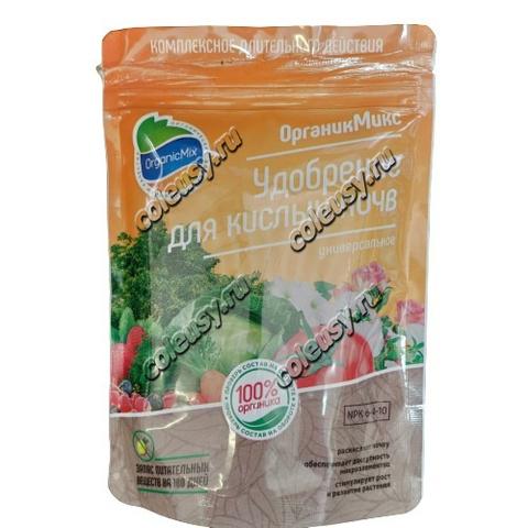 Удобрение для кислых почв ОрганикМикс