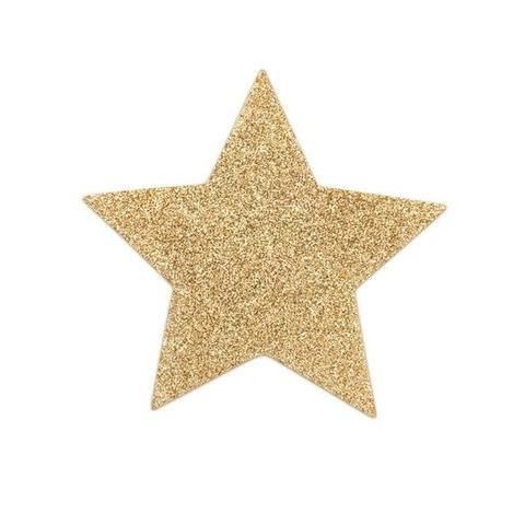 Bijoux Indiscrets Украшение на грудь Flash Star золотое